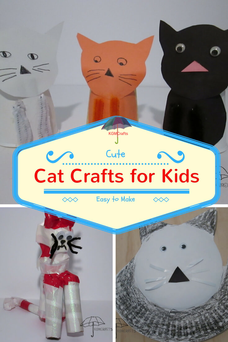 Popsicle stick crafts for kids easy and fun for Cat crafts for toddlers