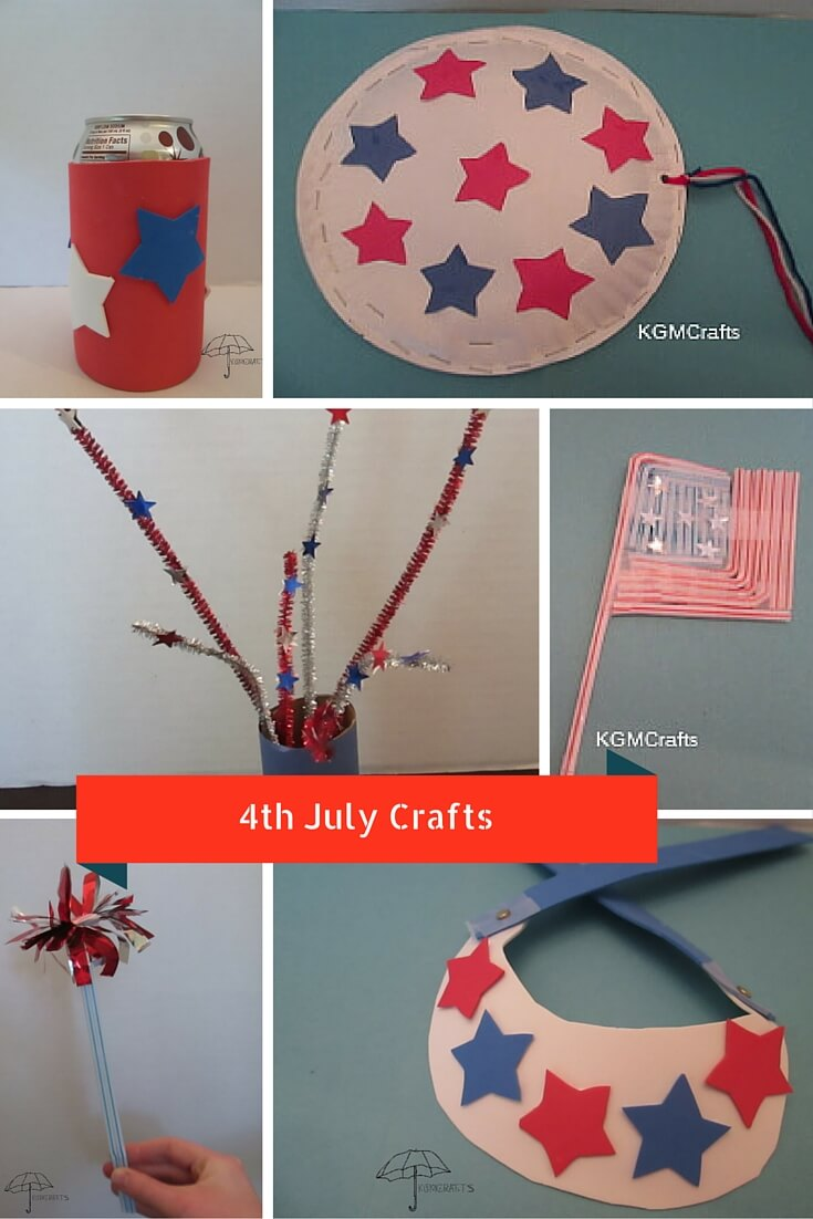 4th July Kids Crafts