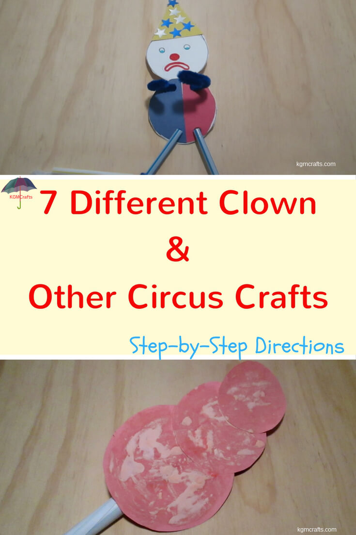 circus preschool crafts