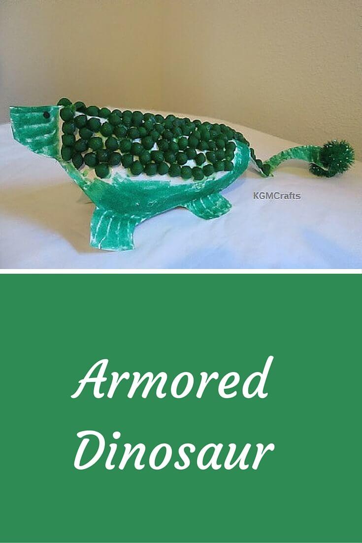 dinosaur dyed pasta craft