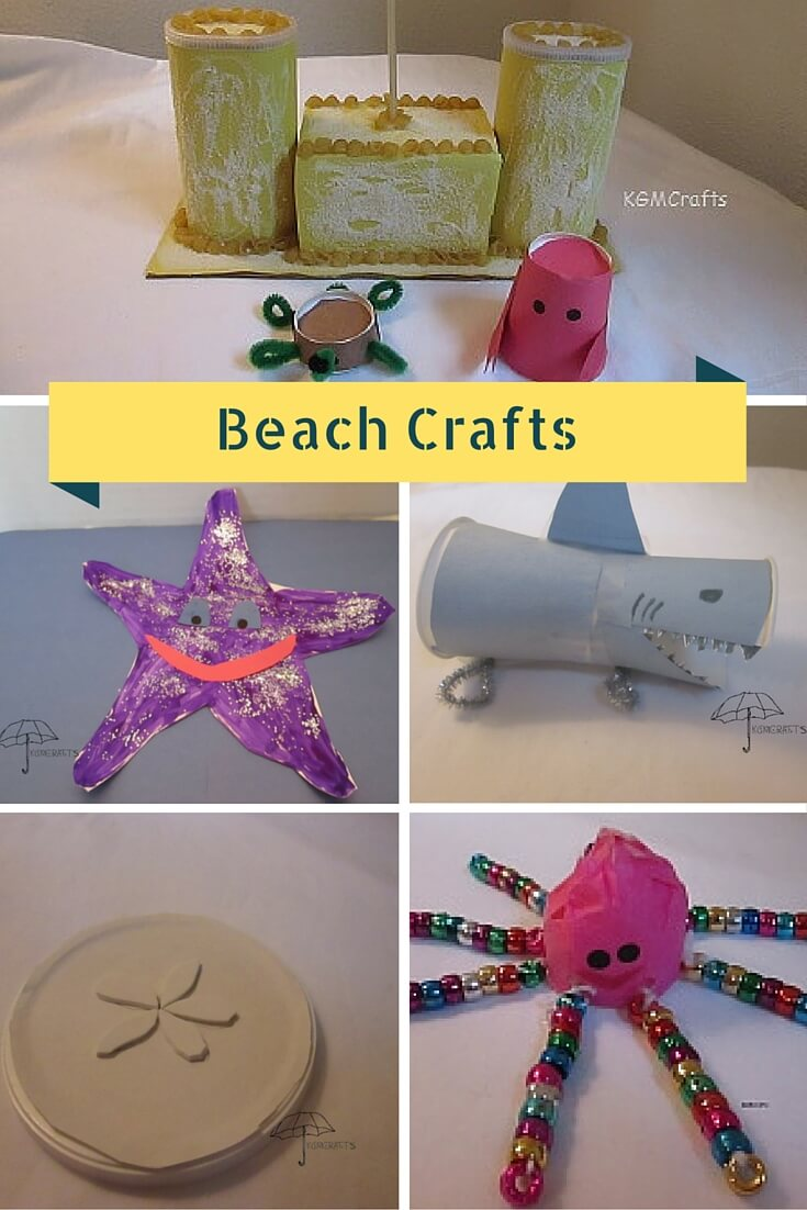 8 ocean themed crafts