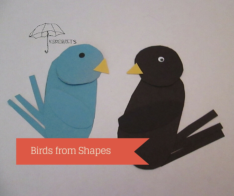 birds from shapes