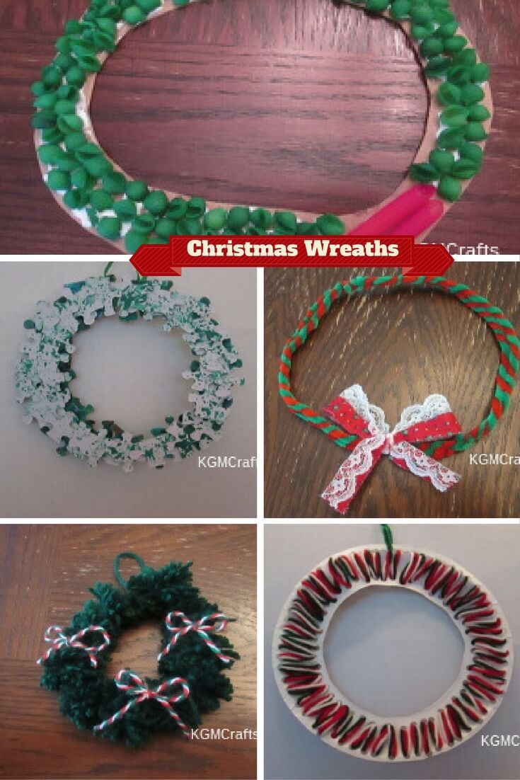 Christmas wreaths for kids