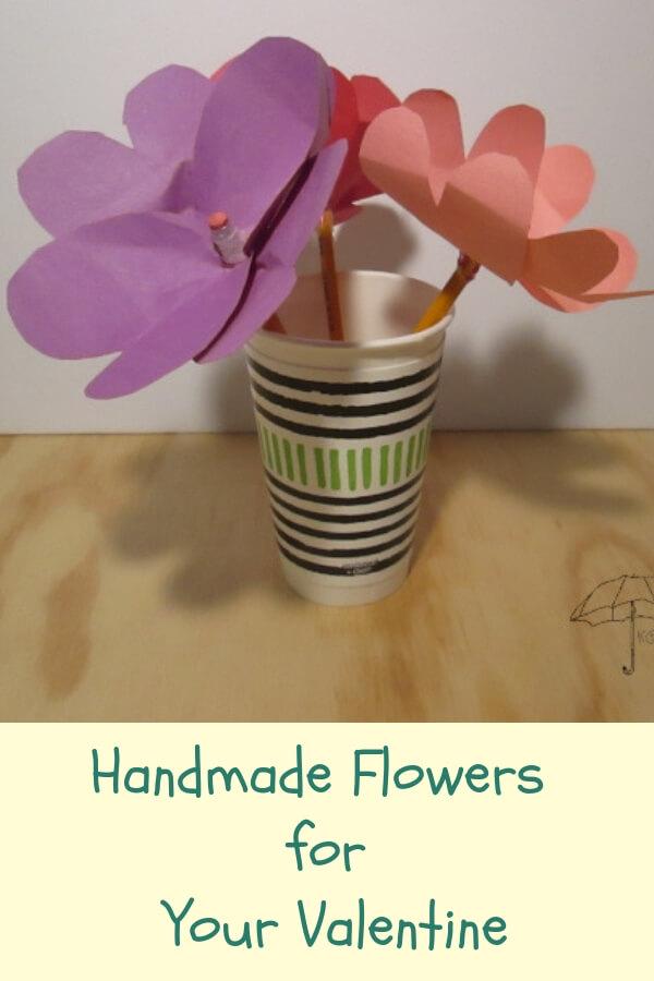 Valentine Flower Crafts for Kids