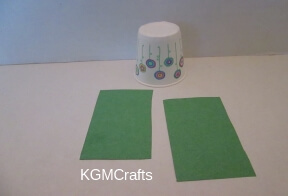 cut paper for cup