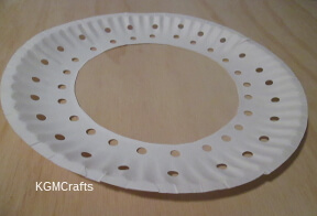 punch holes in plate