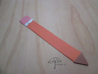 pencil bookmark