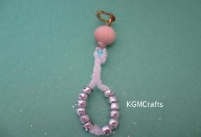 add silver beads