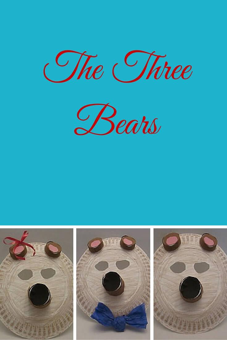 three bear masks