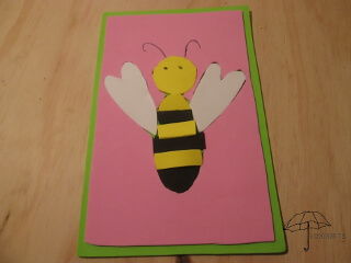 bee puzzle craft