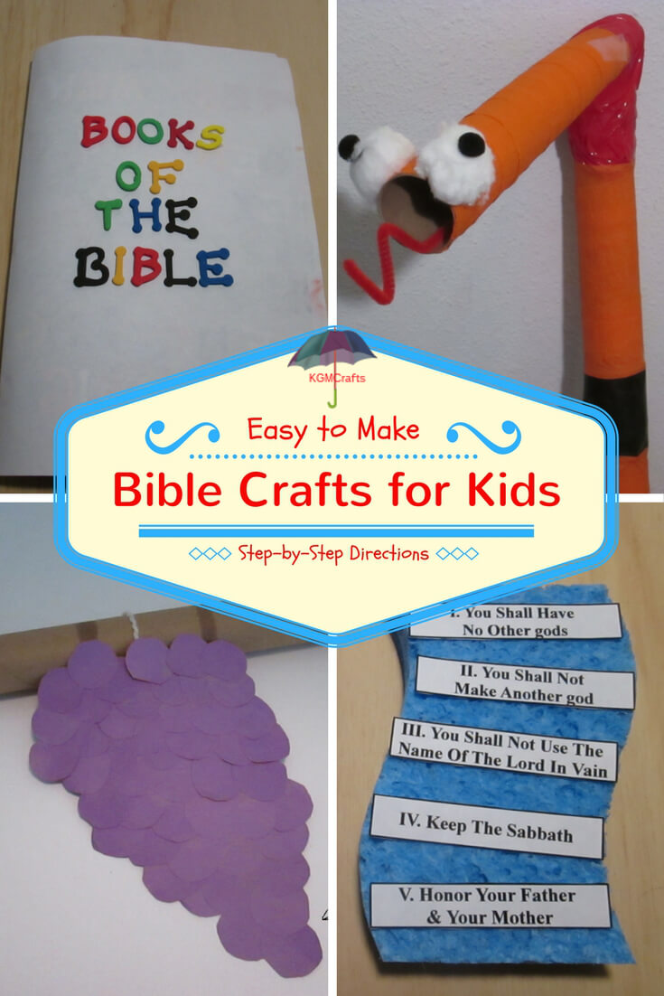 Bible crafts for kids activities to teach the stories for Vacation bible school crafts for adults