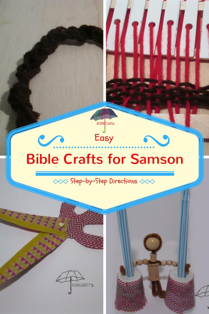 Bible crafts for Samson