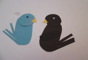 thumbnail of bird shapes