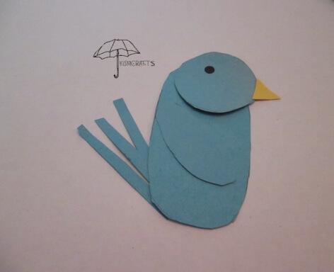 finished shape bird