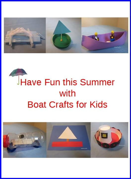 examples of boat crafts