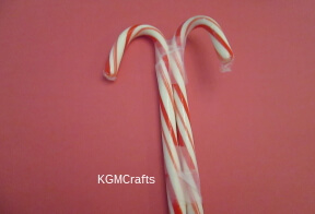 tape candy canes together