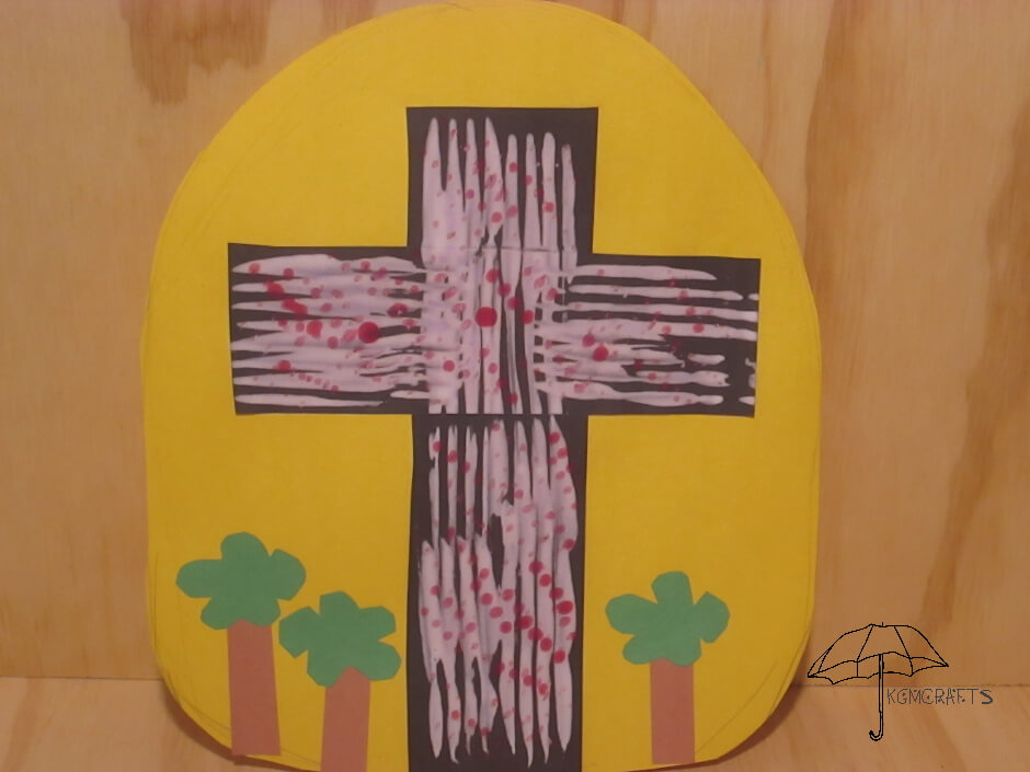 This cross is like the Wordless book it tells about faith in Jesus with colors.