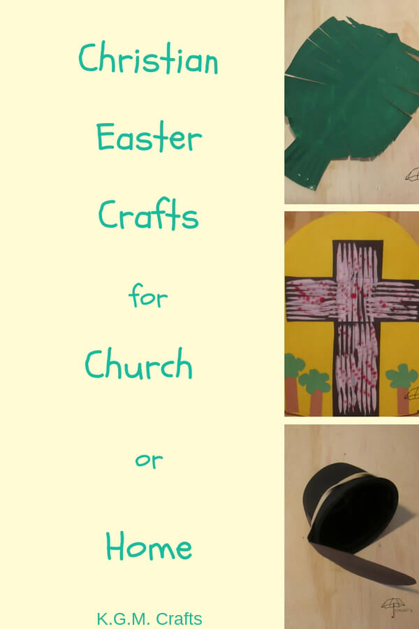 Show your faith with Christian Easter Crafts. Your kids can make crosses, and empty tombs.