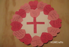Bible crafts for Valentine's Day