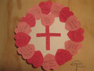 1 Corinthians 13 craft