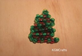 link to beaded Christmas tree