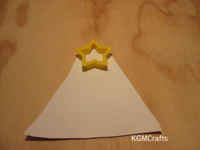 cut a bell shape