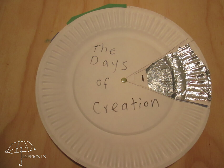 Days of Creation Plate