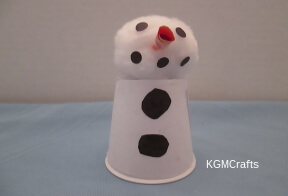 link to cup snowman