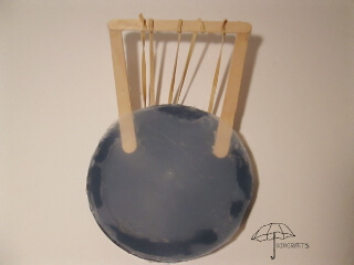 kids lyre craft