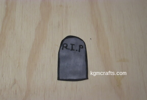 make a tombstone