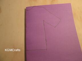 draw a tunic shape