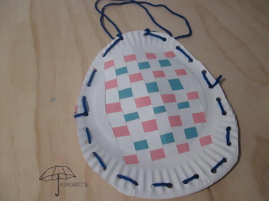 egg shaped basket