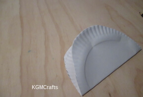 cut egg shape, fold in half, and cut slits