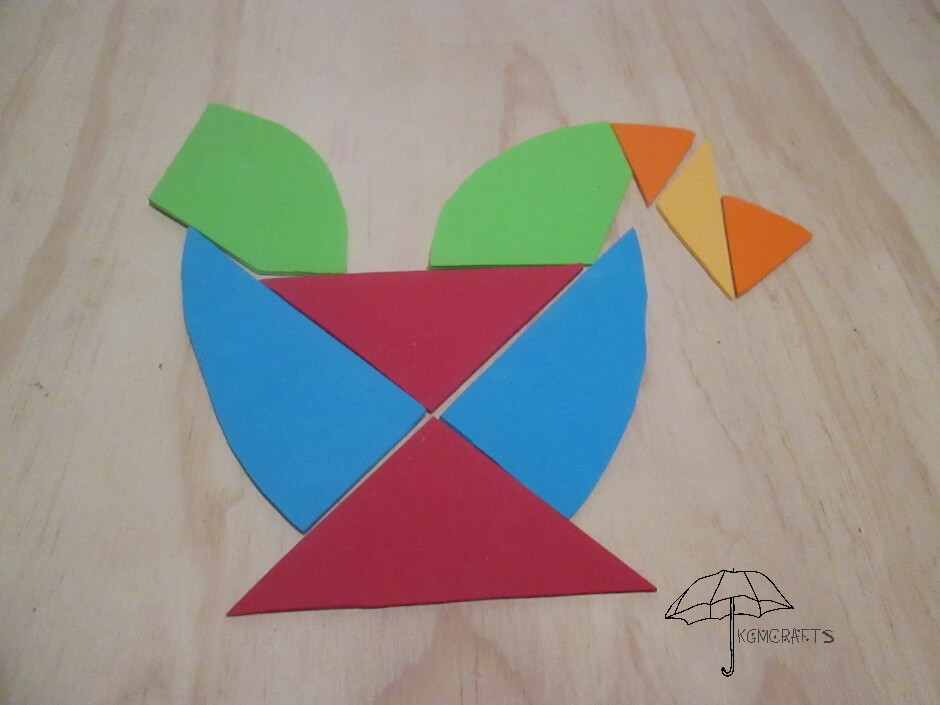 third tangram bird
