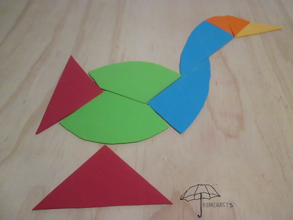 egg tangram bird 1
