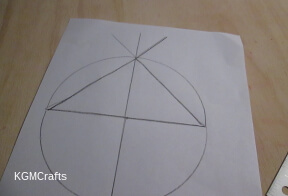 make the first triangle