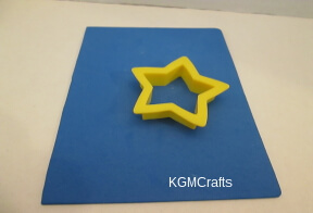 use cookie cutters to make stars