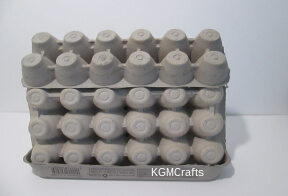 place 12 count egg carton on 18 count