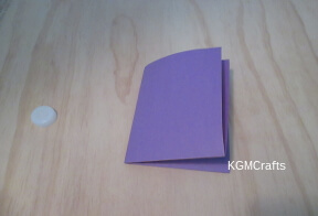 fold paper in fourths