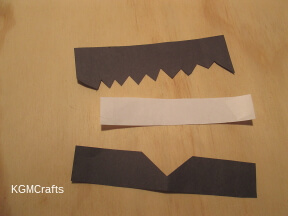 cut pieces for hair and clothes