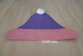 crayon decorated hat