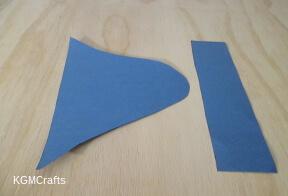 cut out hat shapes