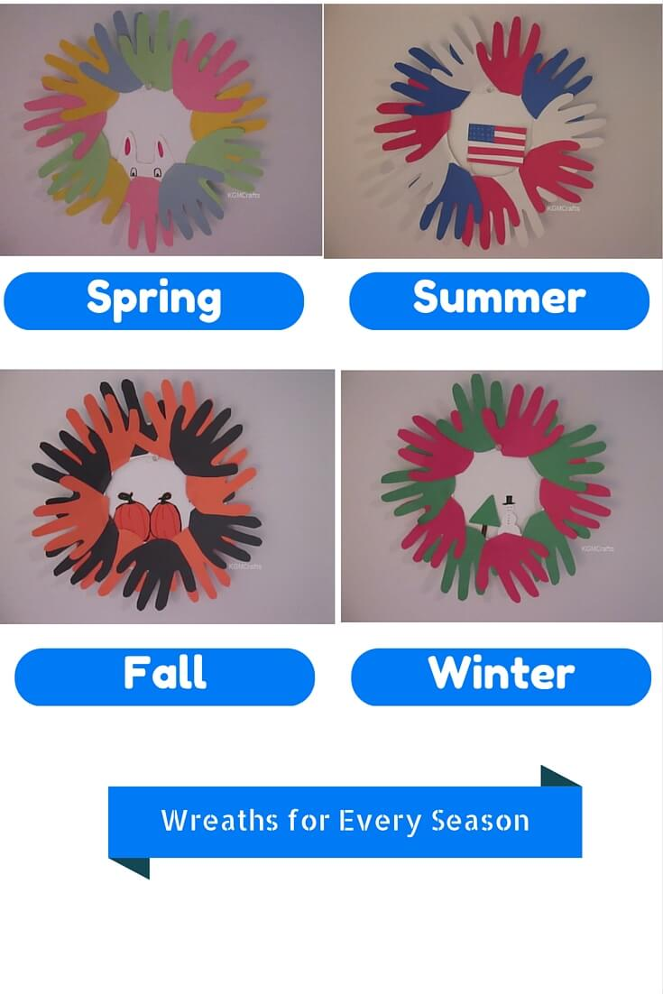wreath crafts for kids