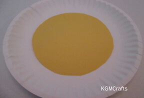 add yellow paper to second plate