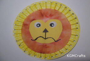 optional add coffee filter lion