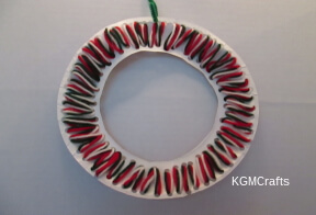 link to lacing card wreath