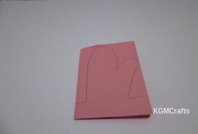 draw a mitten shape