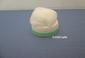 cut cup add cotton