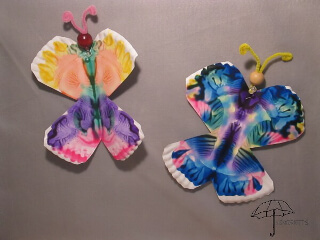 butterfly paper plate craft