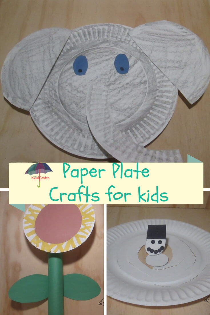 Paper Plate Crafts For Kids Super Easy